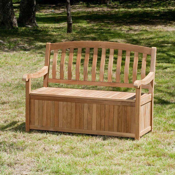 Teak Outdoor Storage Bench Outdoor Storage Bench Outdoor Bench
