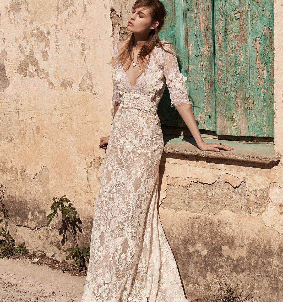 Bohemian Dress Fashion Bride 2018