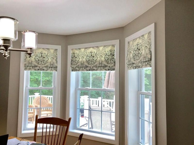 Inside Mounted Faux Roman Valances Are Beautiful And