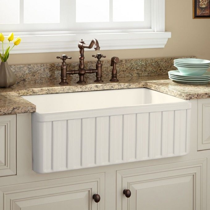 30 Oldham Fireclay Farmhouse Sink With Images Fireclay