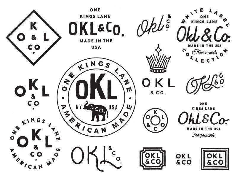 One Kings Lane is part of Graphic design blog - One Kings Lane designed by Keith Davis Young  Connect with them on Dribbble; the global community for designers and creative professionals