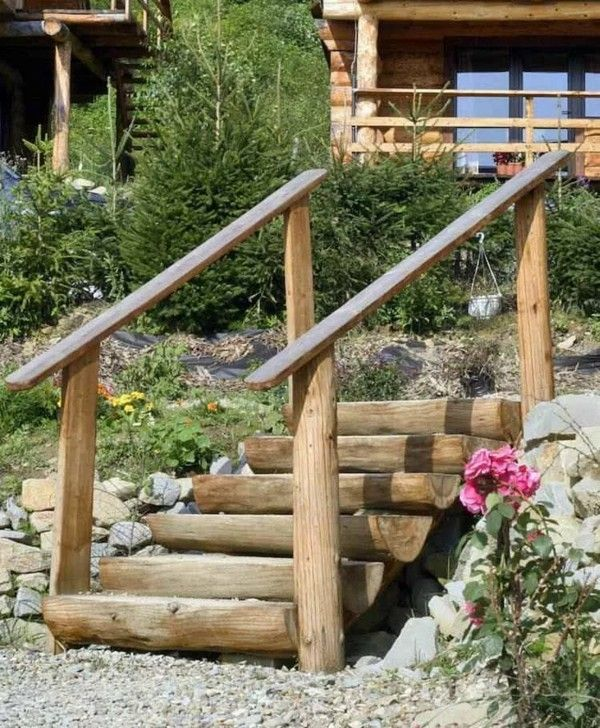 Best Build 50 Ideas For Garden Stairs Yourself Easy Access 400 x 300