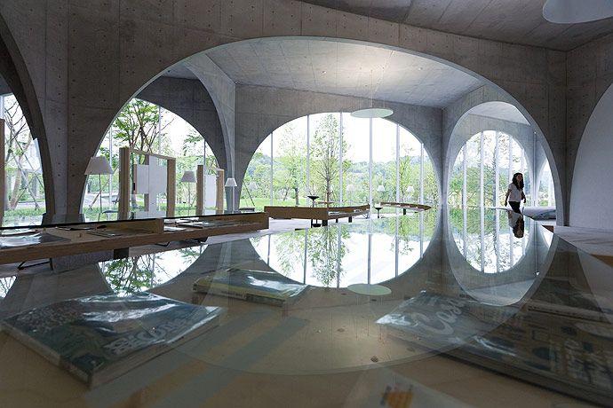 Tama Art University Library Toyo Ito Associates Japan ArchitectureArchitecture Interior DesignAmazing