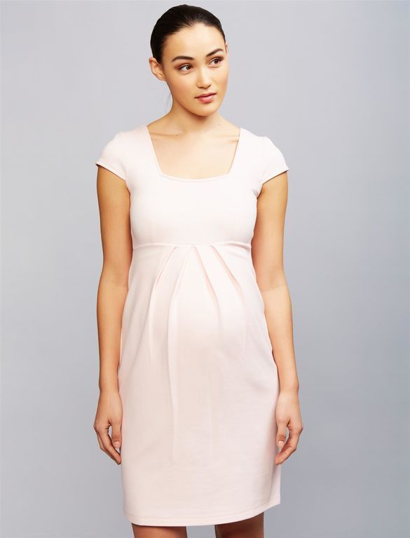 d2d47808510cf Isabella Oliver Farah Ponte Maternity Dress at A Pea In The Pod  #affiliatelink