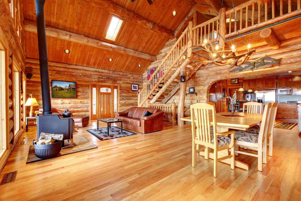 29 Stunning Log Home Designs (Photographs)
