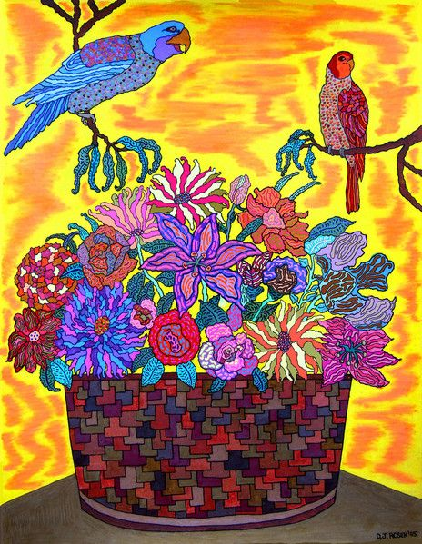 Colored Pencil & Pen, 2005 | Colored pencils, Drawings ...
