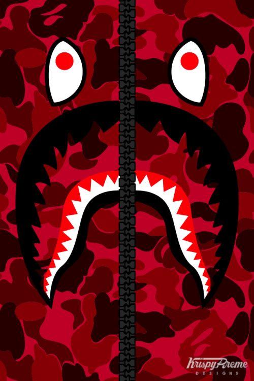 Red Bape Hoodie Bape Wallpapers Bape Wallpaper Iphone Supreme Wallpaper