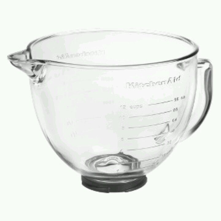 Glass bowl might make keeping my mixer on the counter