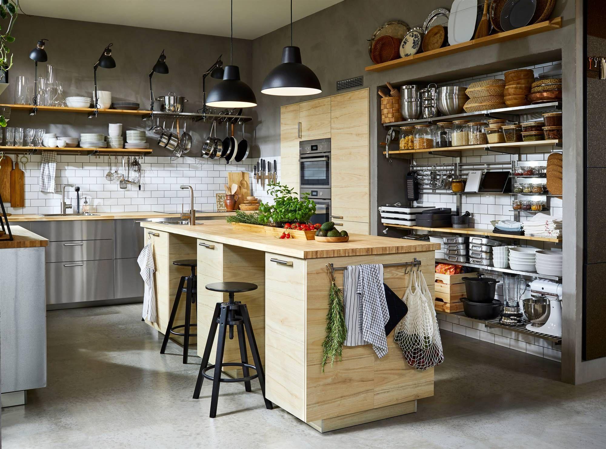 cocina estilo industrial ikea