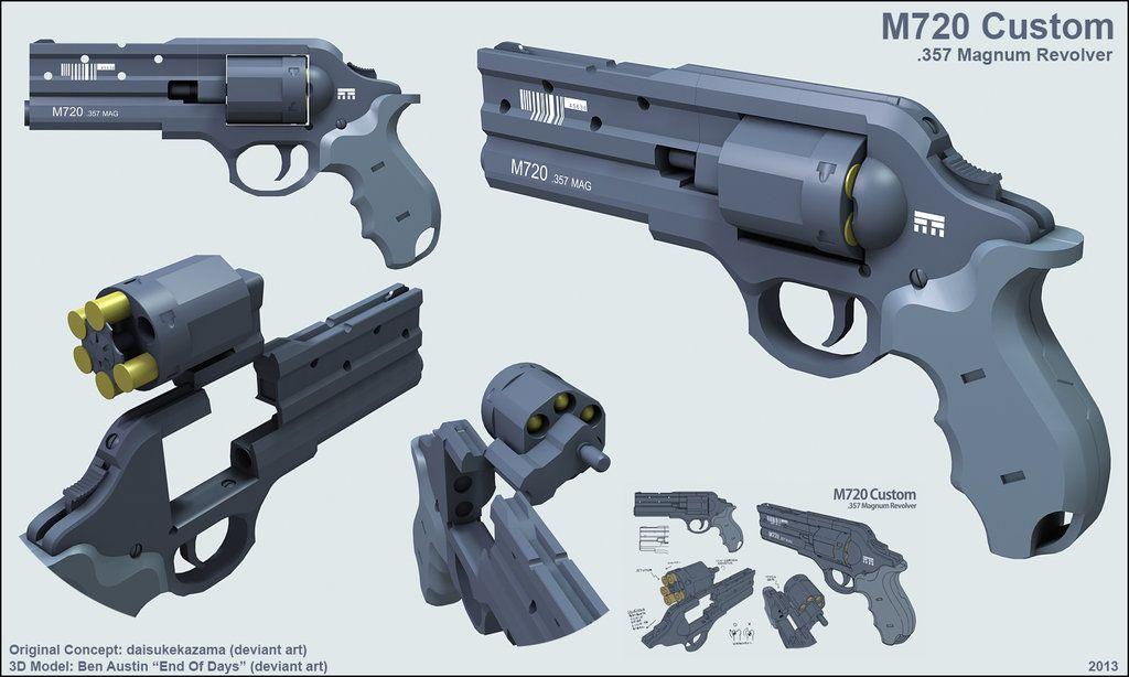 M720 Custom .357 Mag by EoD19 on deviantART