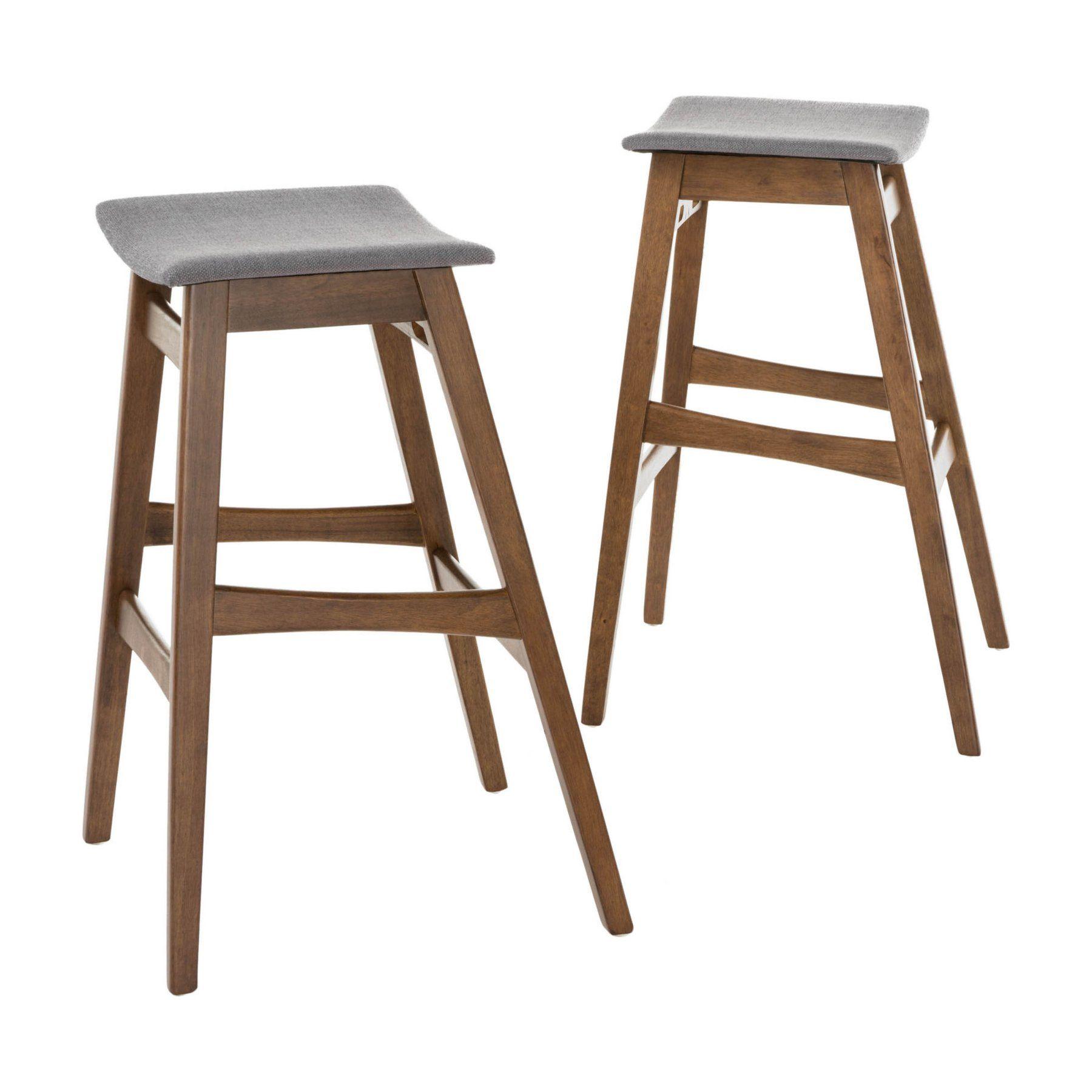 Fine Emmaline 30 In Backless Saddle Seat Bar Stool Set Of 2 Inzonedesignstudio Interior Chair Design Inzonedesignstudiocom