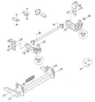 Hn25013120 Hiniker Quick Hitch Plow Mount Kit For Ford F250 F550 Ford F250 F250 Ford