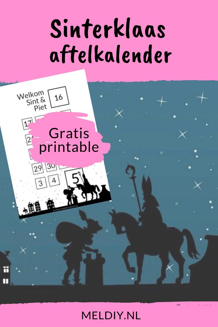 Pin Op Sinterklaas Diy