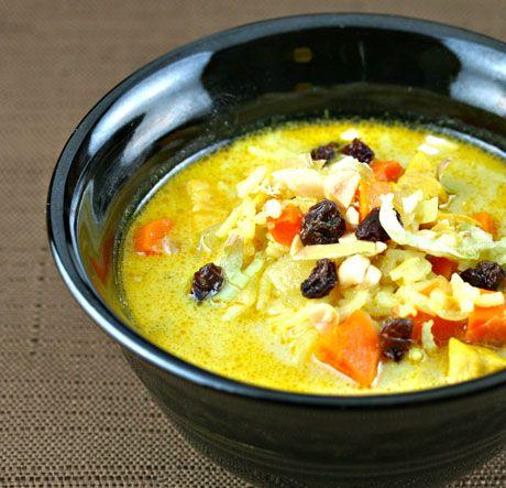 mulligatawny soup with chicken #mulligatawnysoup