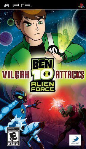 Ben 10 Alien Force Vilgax Attacks Sony Psp By D3 Publisher