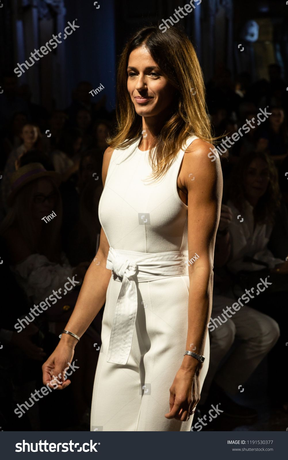 Milan Italy September 20 Fashion Designer Sara Cavazza Facchini Walks The Runway At Genny Show During Milan Wome Ad In 2020 Fashion Design Fashion Peplum Dress