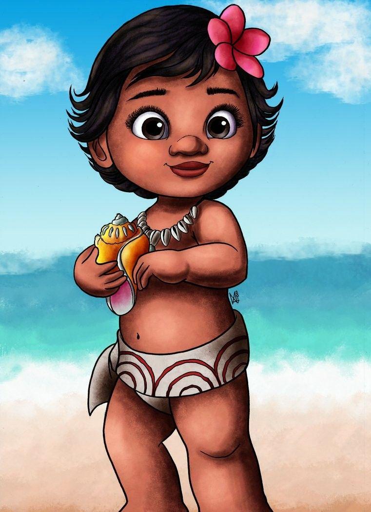 Baby Moana Com Imagens Festa Moana Moana Bebe Baby Groot
