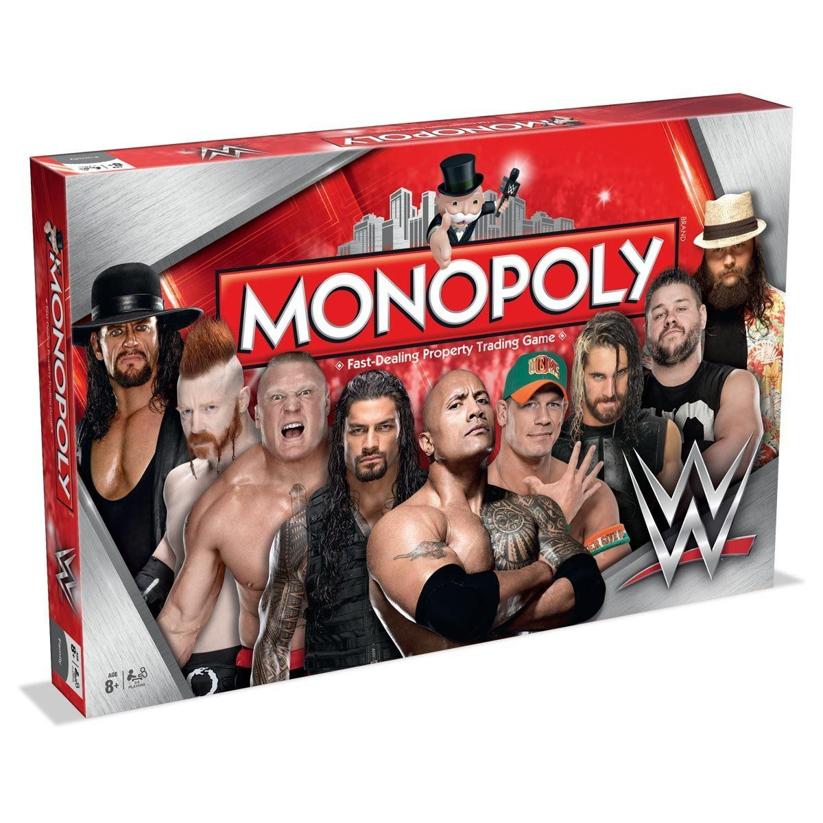 Amazon.com: WWE Edition Monopoly - Winning Moves: Toys & Games