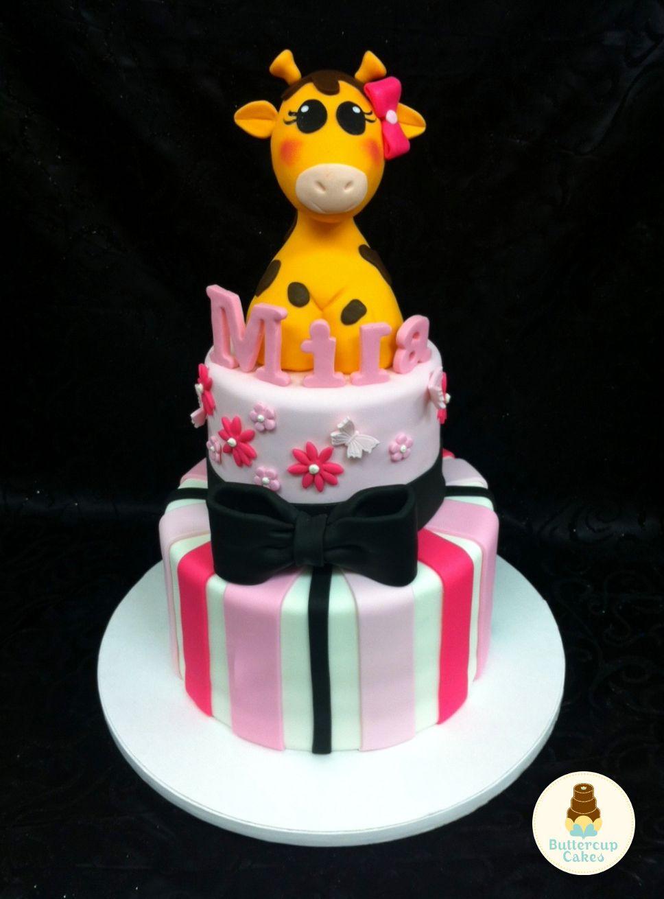 Giraffe baby shower cake giraffe cakes giraffe baby