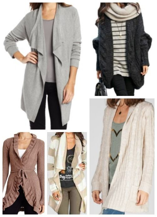Long Cardigan Wrap Sweaters To Wear With Leggings Fall Favorites