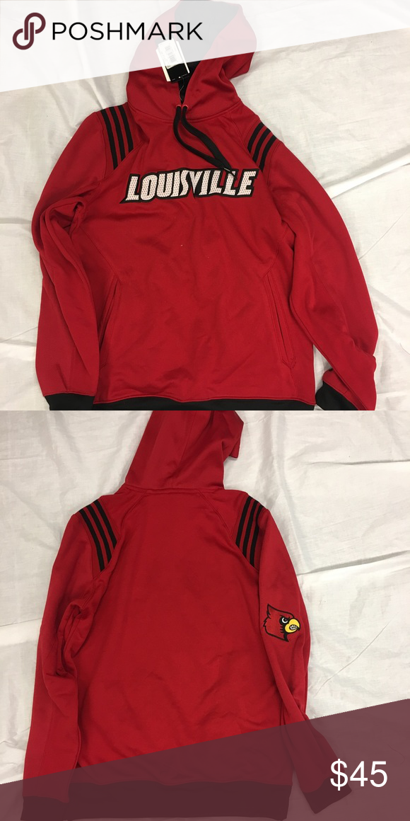 Louisville Cardinals adidas Hoodie Sweatshirt Louisville