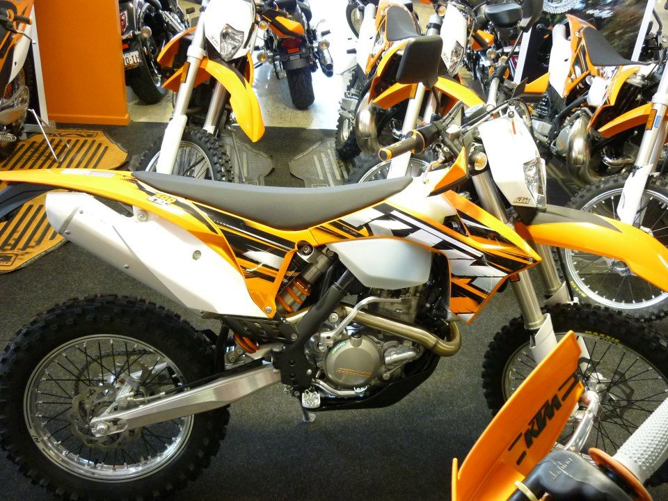 Brand new KTM bike in store now. The awesome KTM500EXC