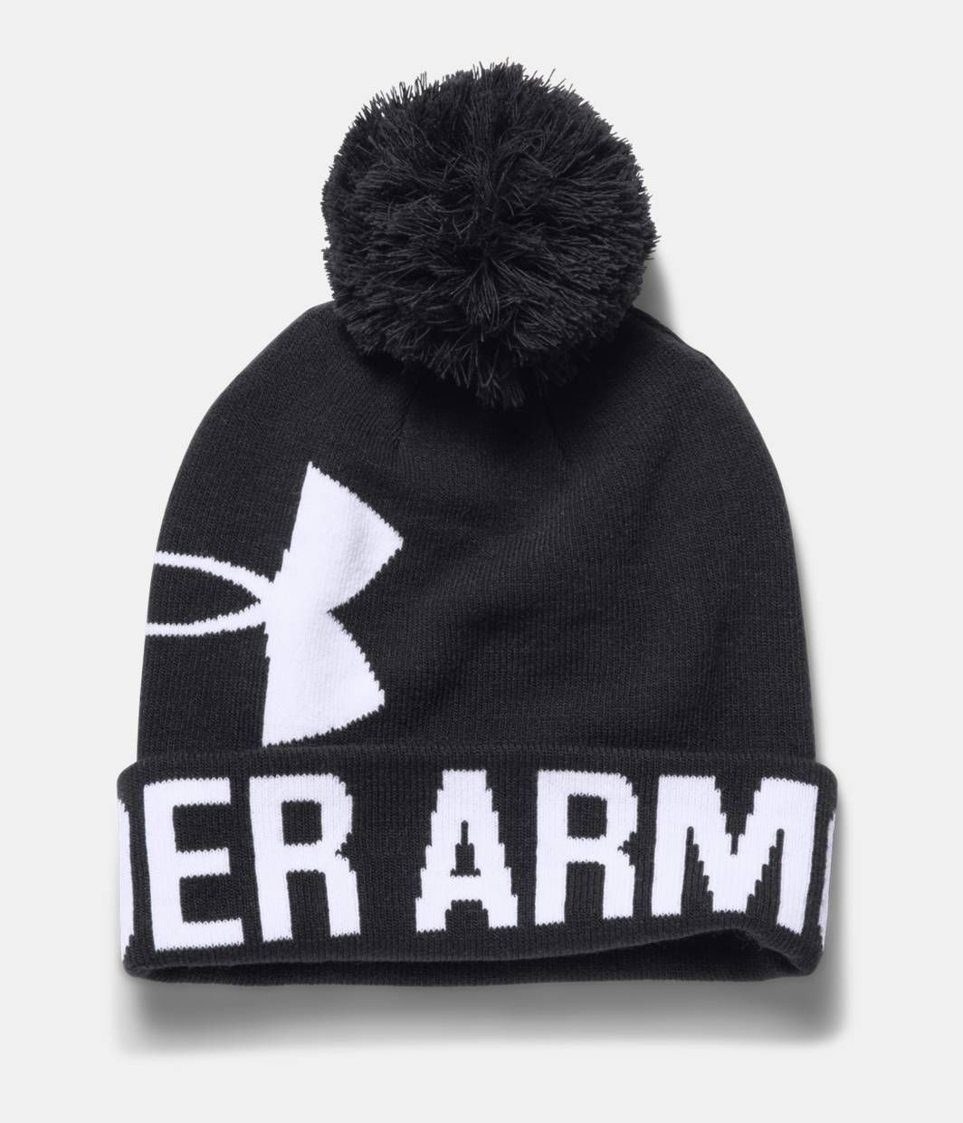 Shop Under Armour for Women s UA Graphic Pom Pom Beanie in our Womens  Beanies department. Free shipping is available in US. 5f2af3e14