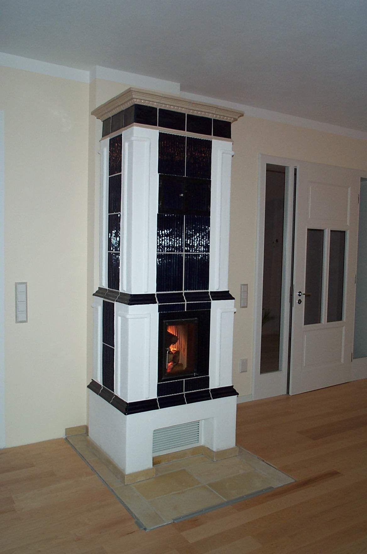 ofen mit gebrannten kacheln kachelofen kamin fireplace stil fen. Black Bedroom Furniture Sets. Home Design Ideas