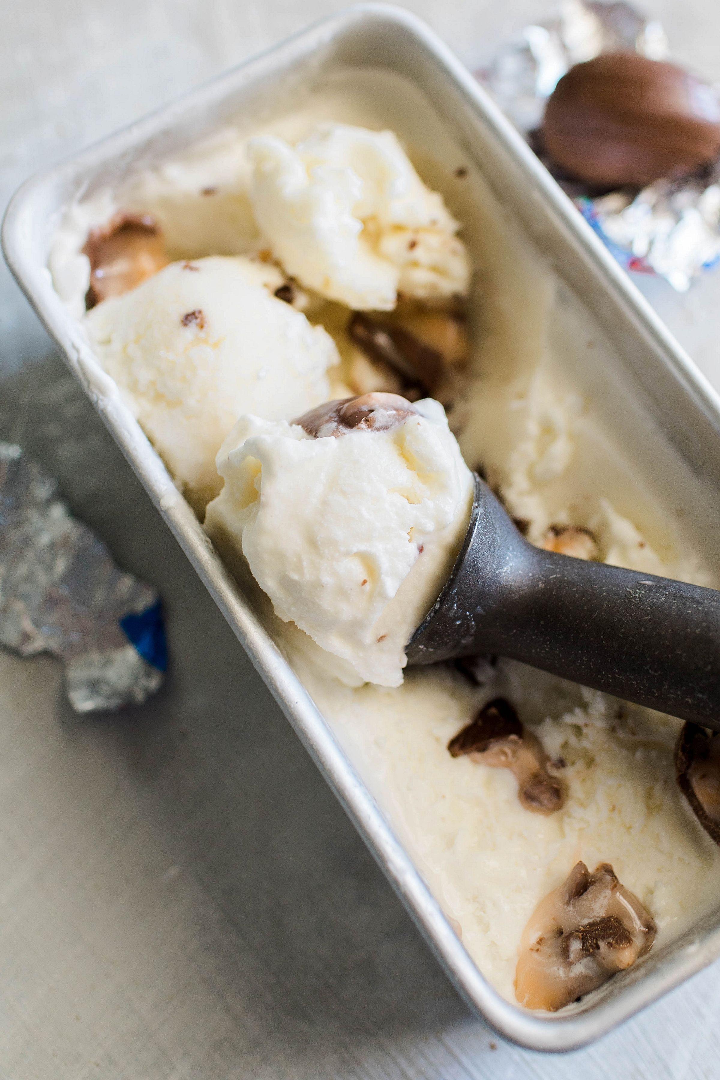 Cadbury cream egg ice cream recipe in 2020 with images