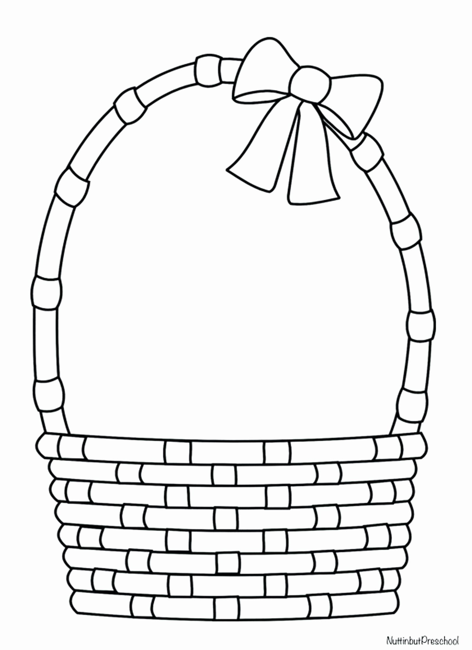 Empty Easter Basket Coloring Page Luxury Free Printable Easter And
