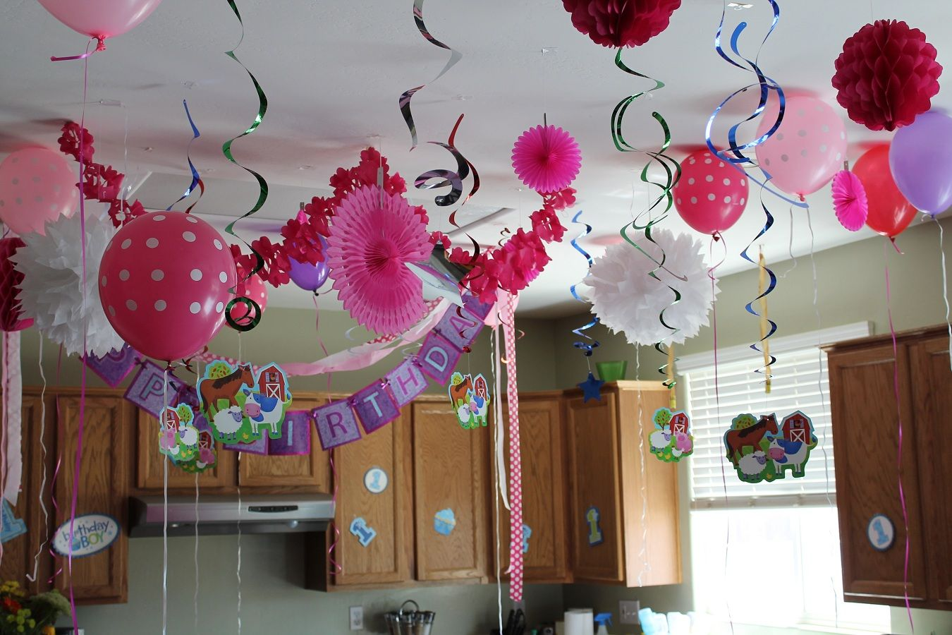 Easy Balloon Decoration Ideas For Birthday Party At Home B Day