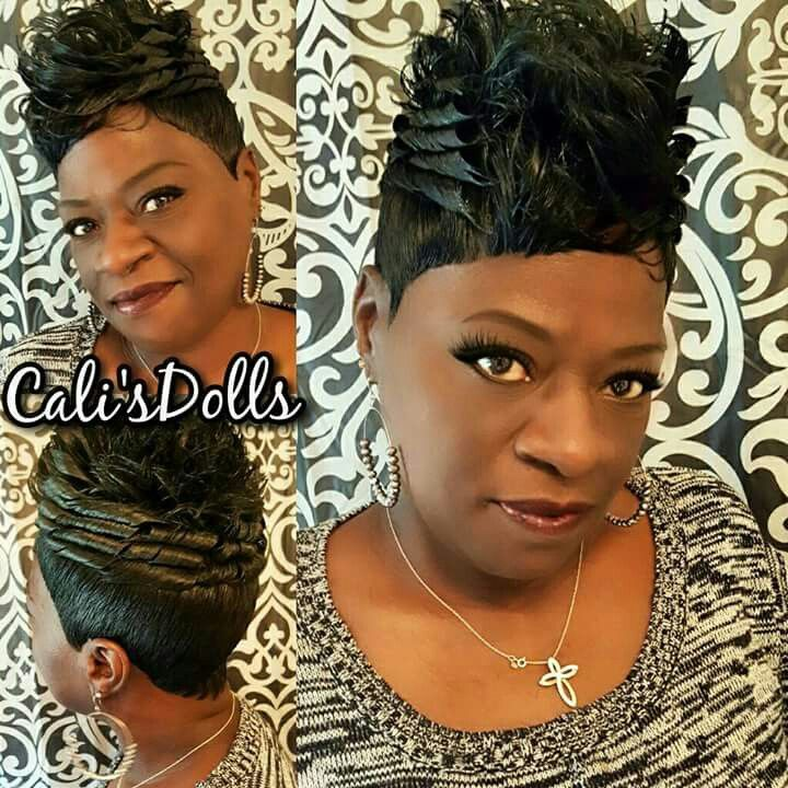 Quick Weave Hairstyles, Short Natural