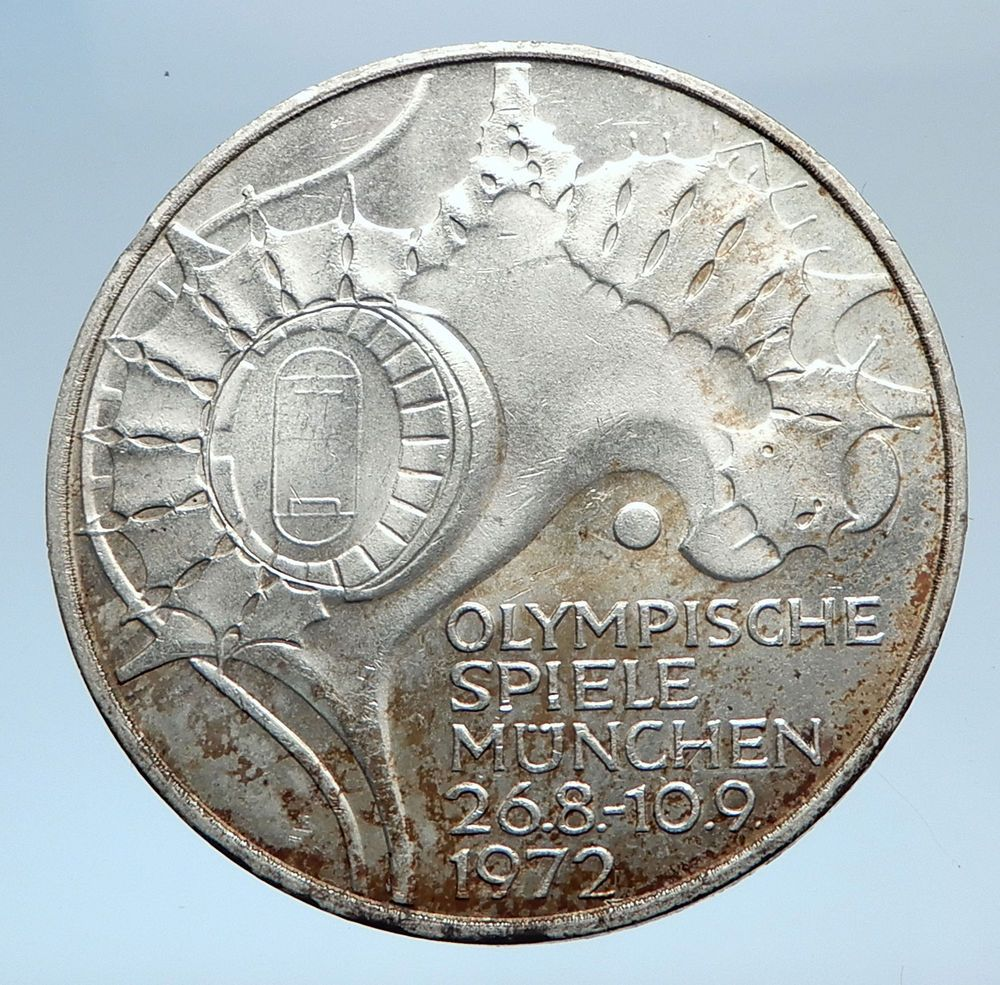 1972 Germany Munich Summer Olympic Games Stadium 10 Mark