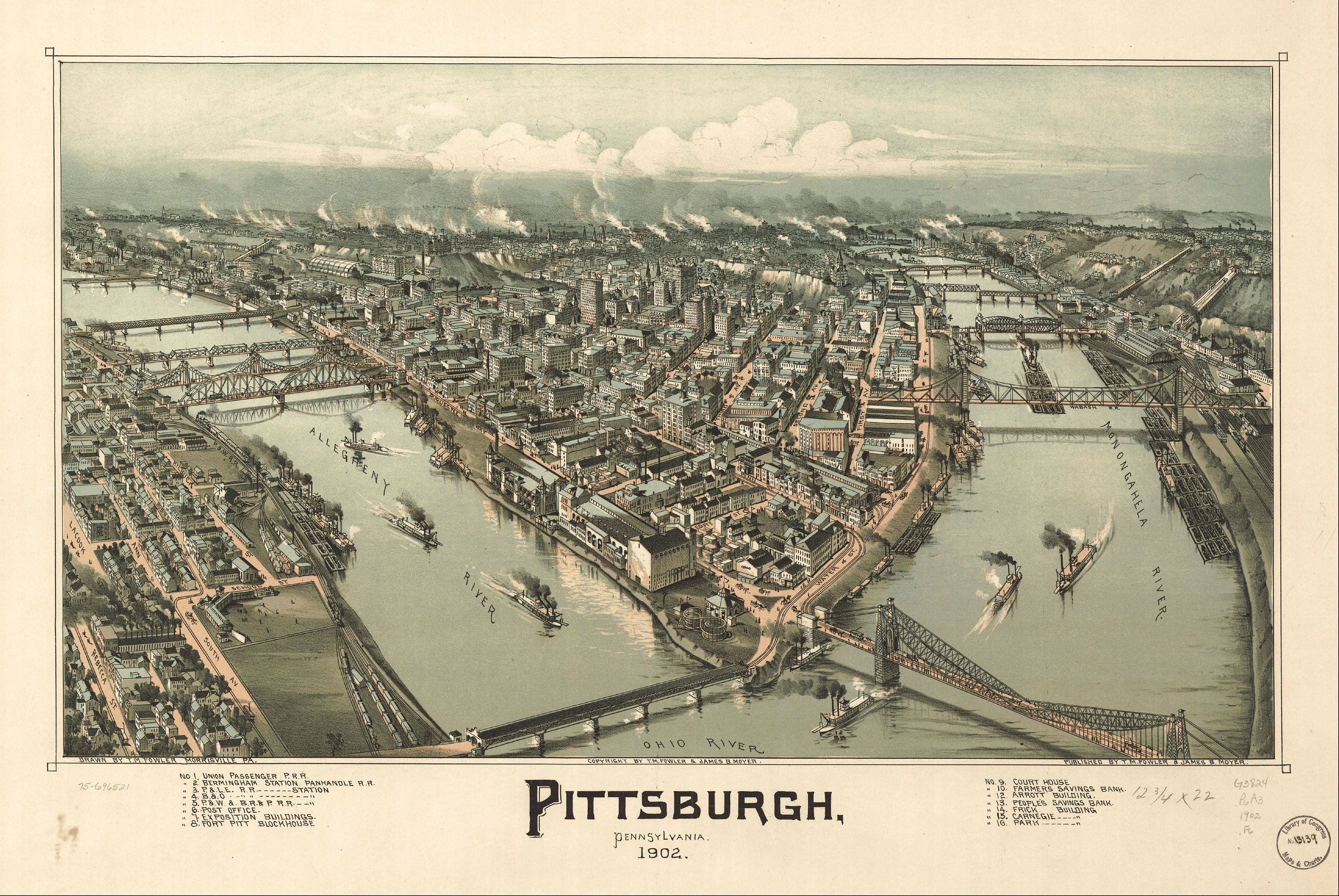 old map of pittsburgh - Google Search