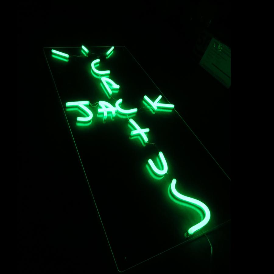 Cactus Jack Light By Travis Scott Led Neon Sign In 2020 Neon Signs Travis Scott Iphone Wallpaper Travis Scott Wallpapers