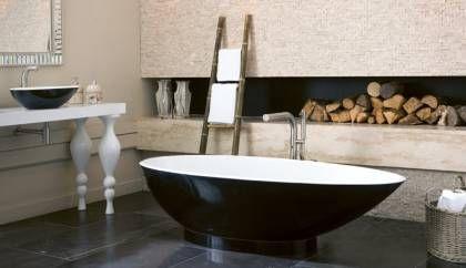 Salle de bain blanche et noire – un classique revisité en 20 propositions inspirantes
