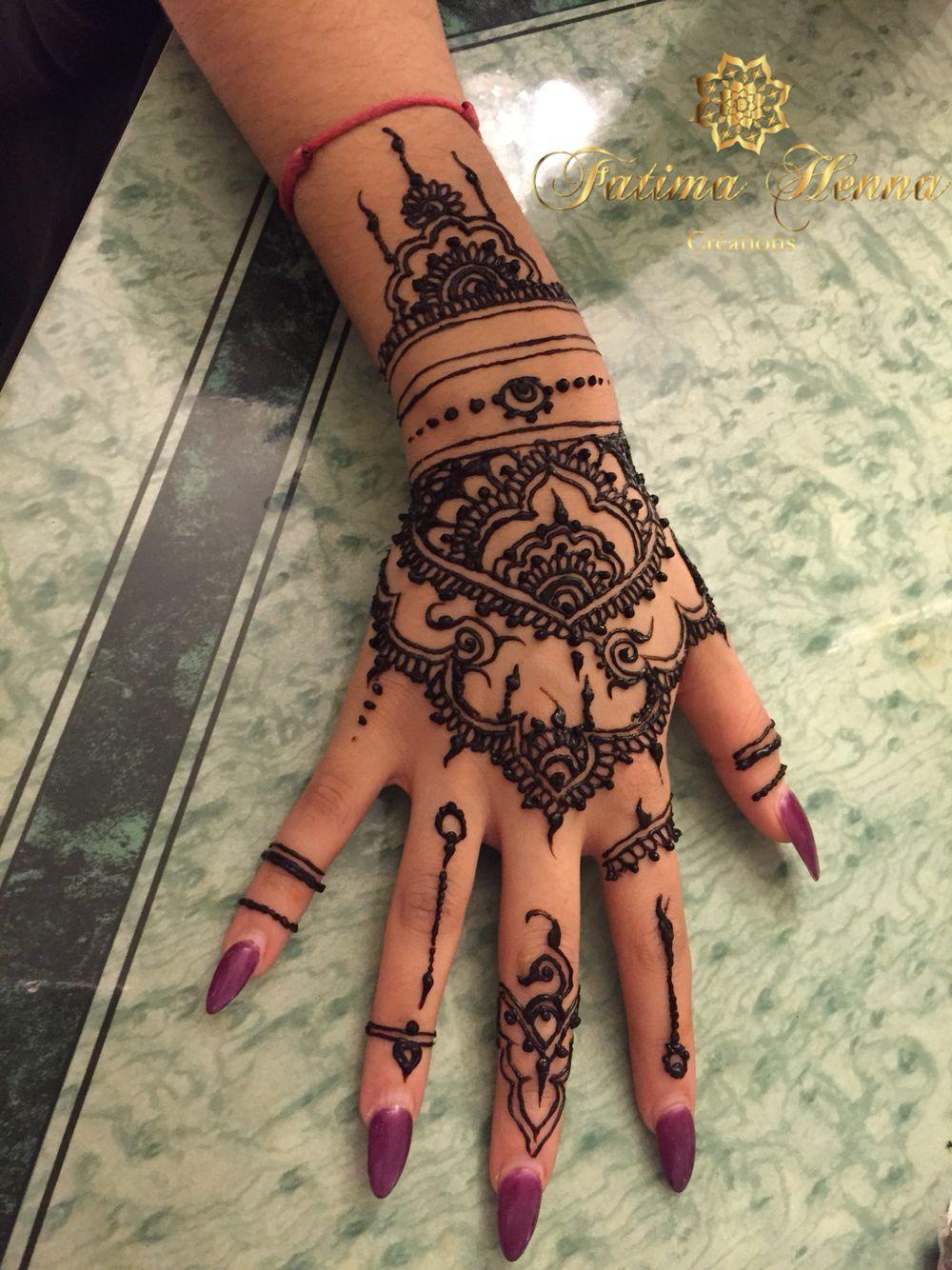 Inspiration Rihanna Ink Henna Tattoo Hand Henna