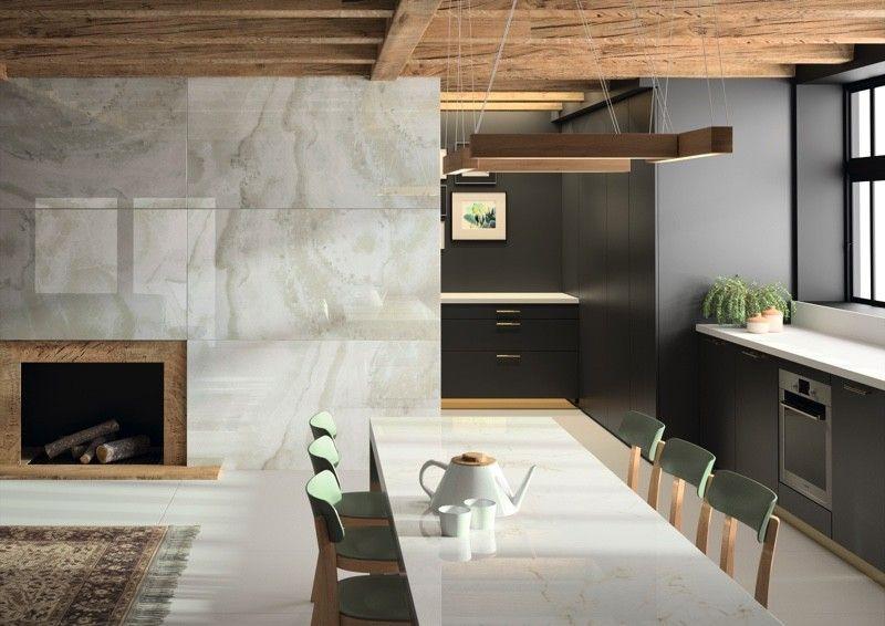 Moderne Küche auf der LivingKitchen 2017 WOHNEN  EINRICHTEN
