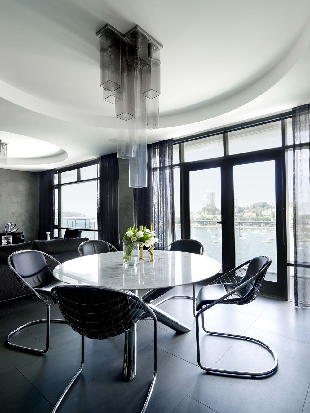 Greg natale design elizabeth bay apartment sydney for Apartment design sydney