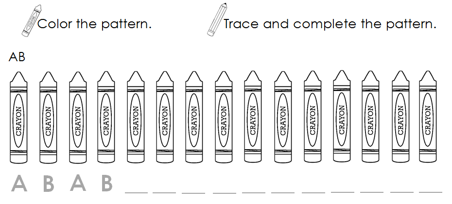 Worksheet 604780 Kindergarten Pattern Worksheets Free – Patterning Worksheets for Kindergarten