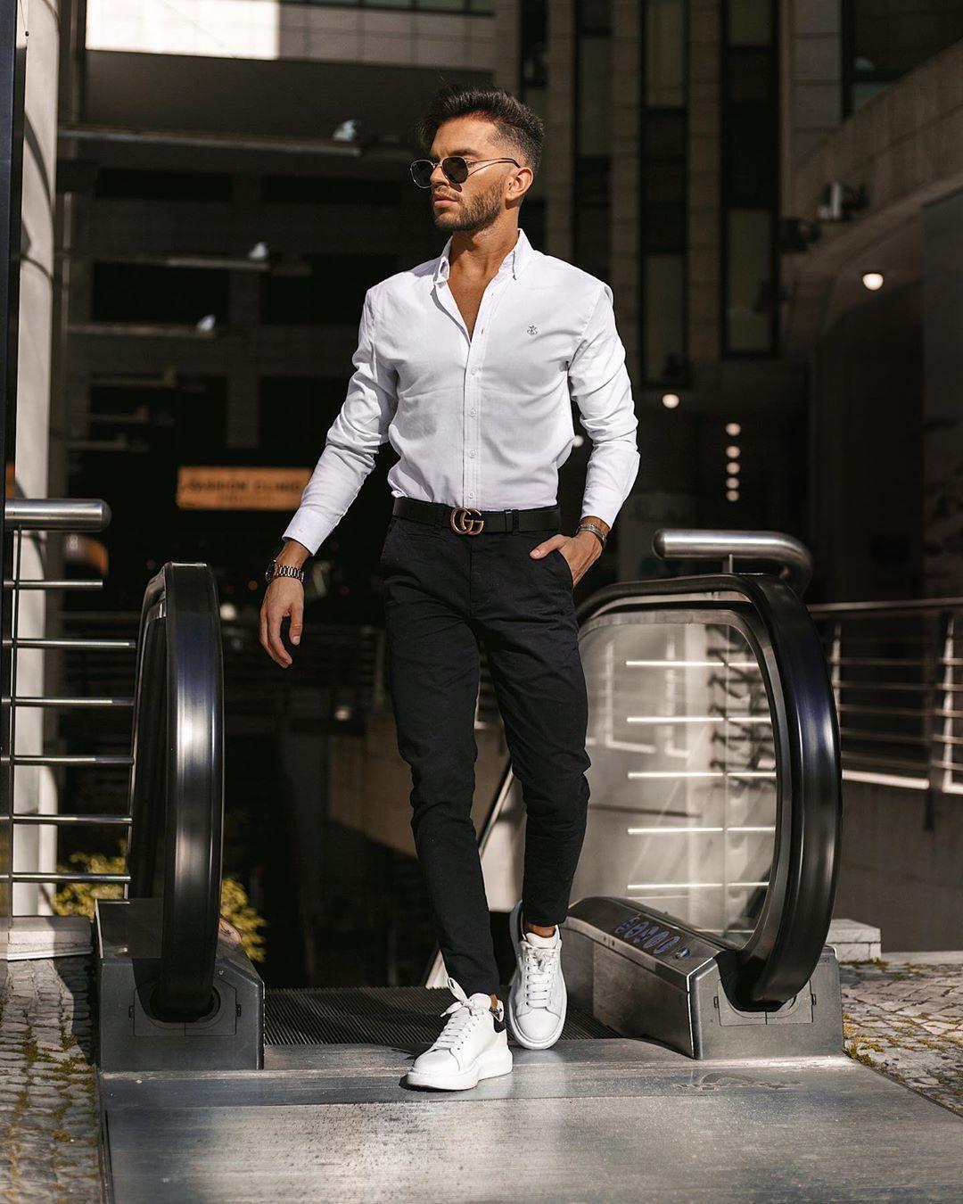 Alexander Mcqueen Sneakers Outfit Men