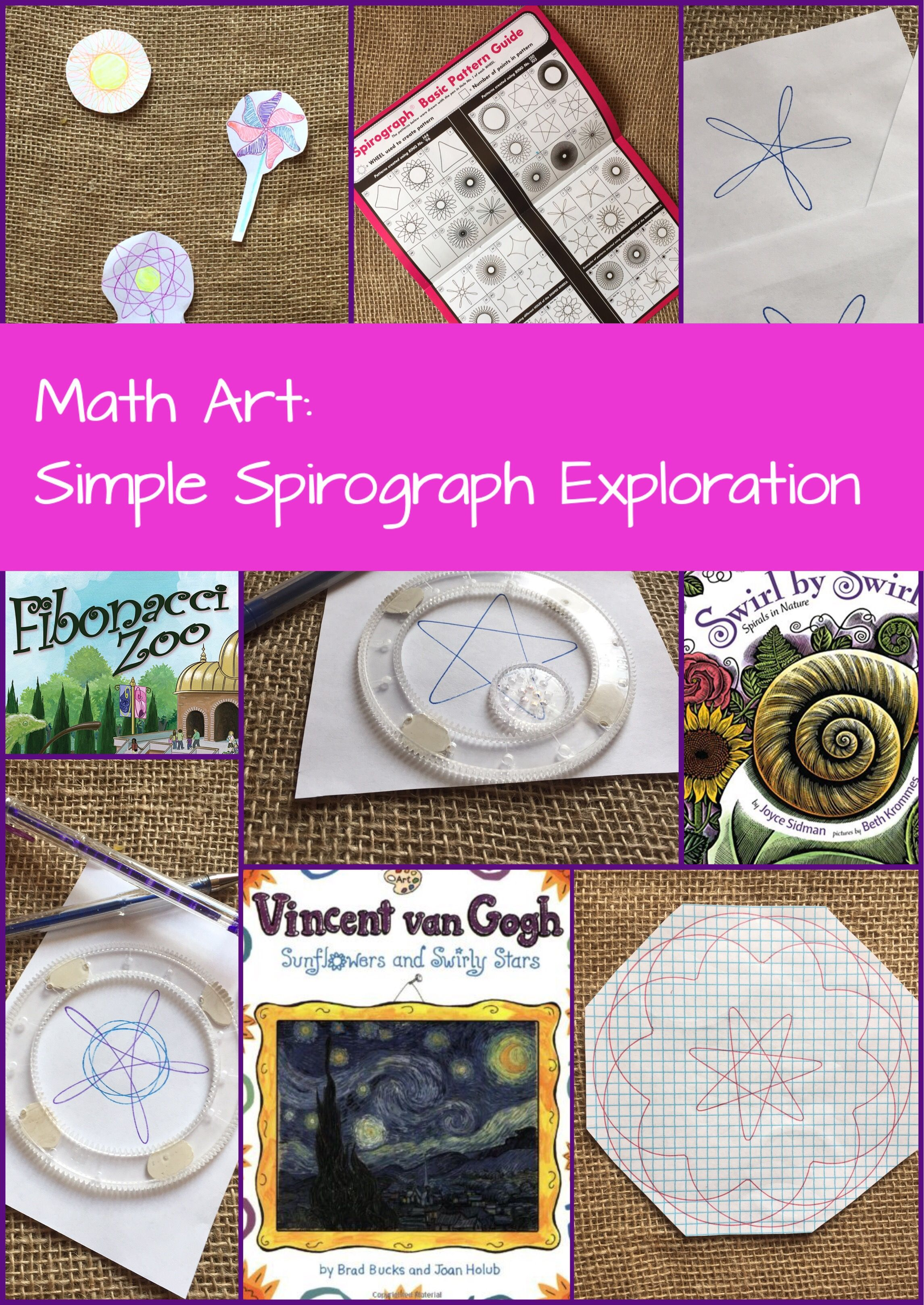 Exploring spirographs to spark math wonder play discover learn