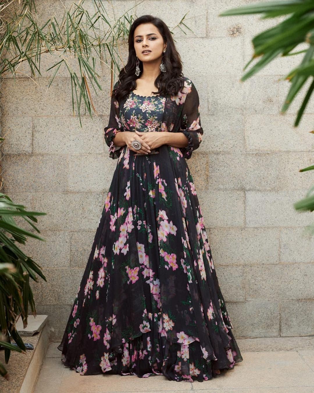 23b04a4922 Actress @shraddhasrinath in Mrunalini Rao latest collection . Calantha  collection by Mrunalini Rao. Stunning