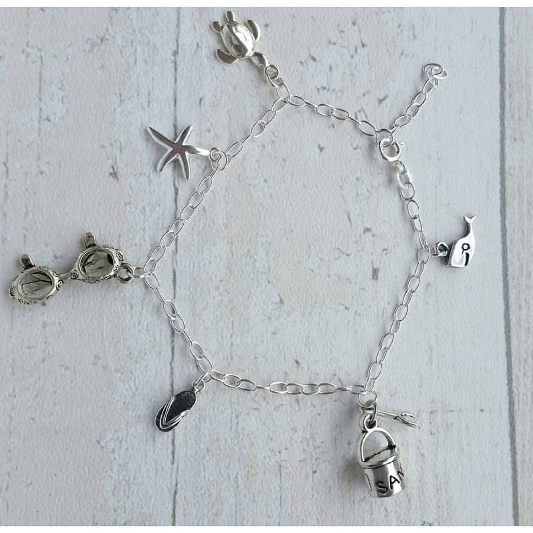 4724732a9 Morning All and Hello Monday! My 'Hengistbury' charm bracelets have been a  firm favourite this Christmas. I love how each and everyone is…