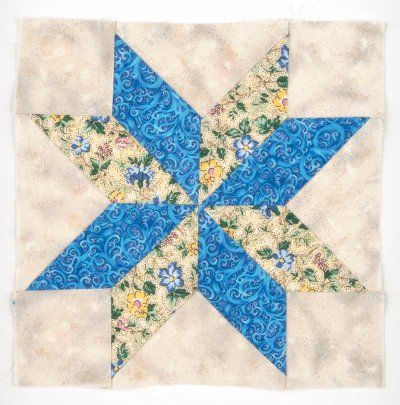 Eight-Pointed Star Quilt Block | Star quilt patterns, Star quilts ... : how to sew a star quilt - Adamdwight.com