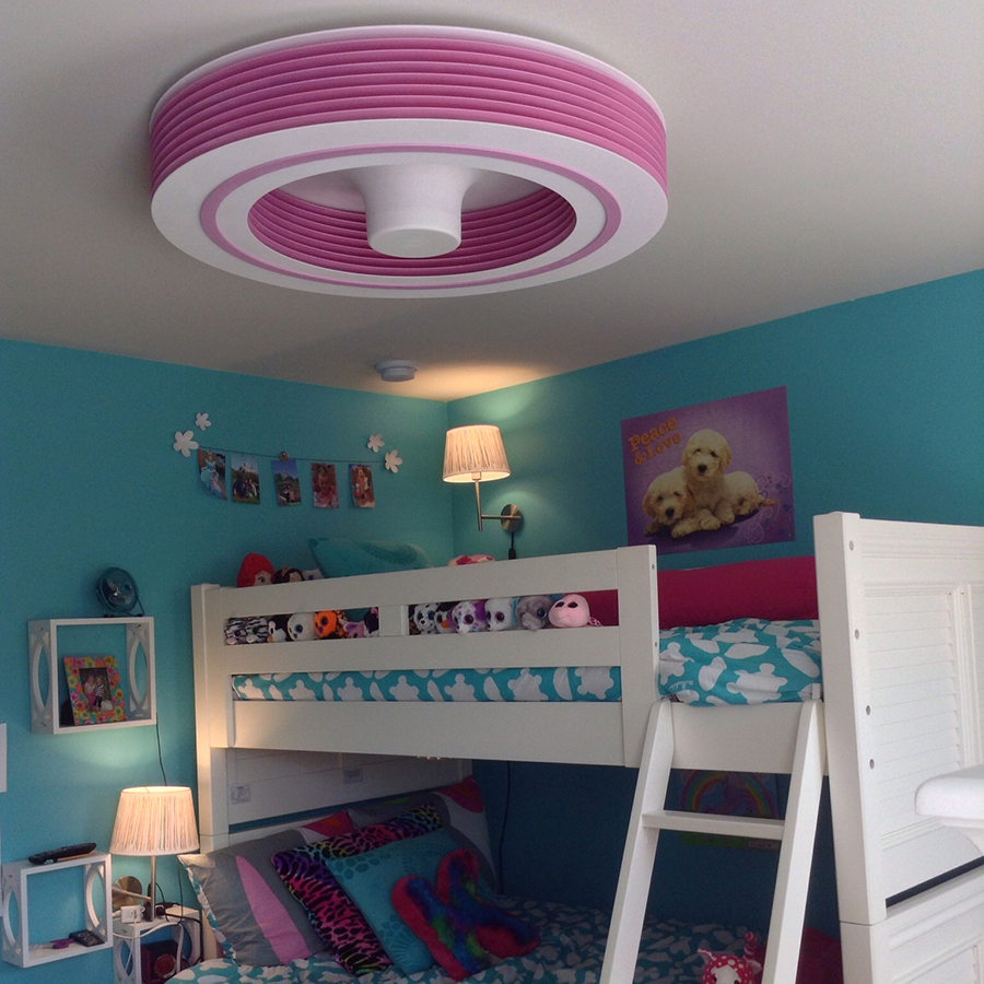 Exhale fans ef34 12 pkpk pretty in pink exhale fans owners club exhale fans bringing innovation to ceiling fans mozeypictures Choice Image