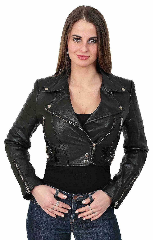 Leather Jacket For Women Biker Jacket Cropped Leather Jacket By Coriumboutique On Etsy Leather Jackets Women Celebrities Leather Jacket Womens Biker Jacket [ 1500 x 955 Pixel ]