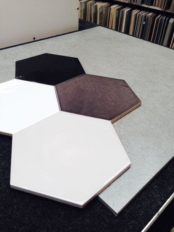 Hex Tiles And Concrete Look
