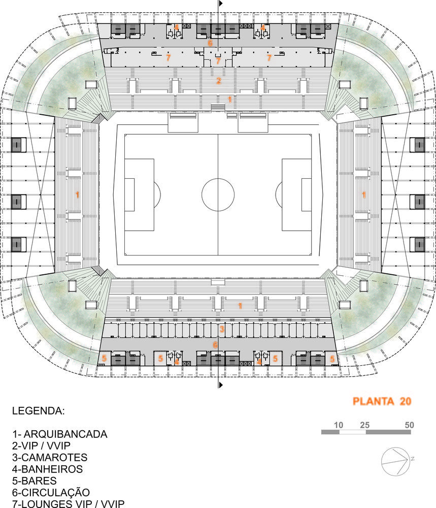 Arena Cuiabá / GCP Arquitetos in 2020 Stadium