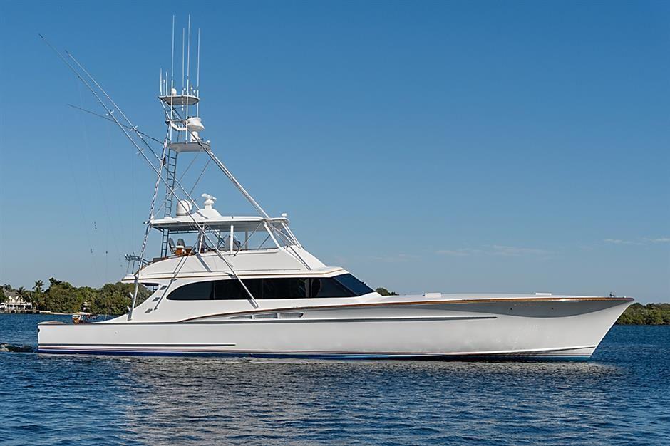 """Used """"2009 78' 0"""" RYBOVICH Sportfisherman"""" HMY Yachts"""